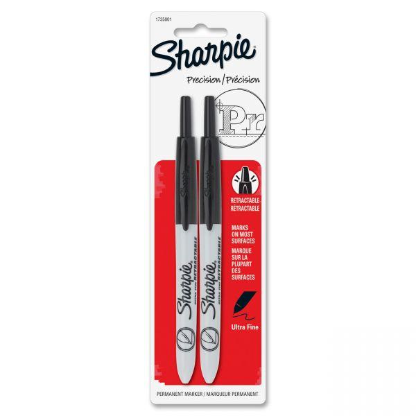 Sharpie Retractable Ultra Fine Permanent Markers