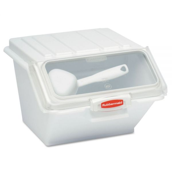 Rubbermaid Commercial ProSave Shelf-Storage Ingredient Bin w/Scoop