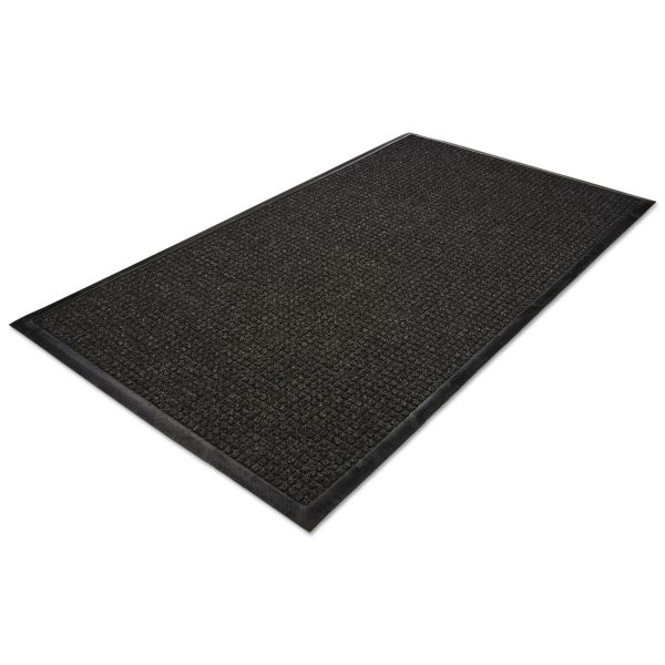 Guardian WaterGuard Wiper Scraper Indoor Mat, 36 x 60, Charcoal