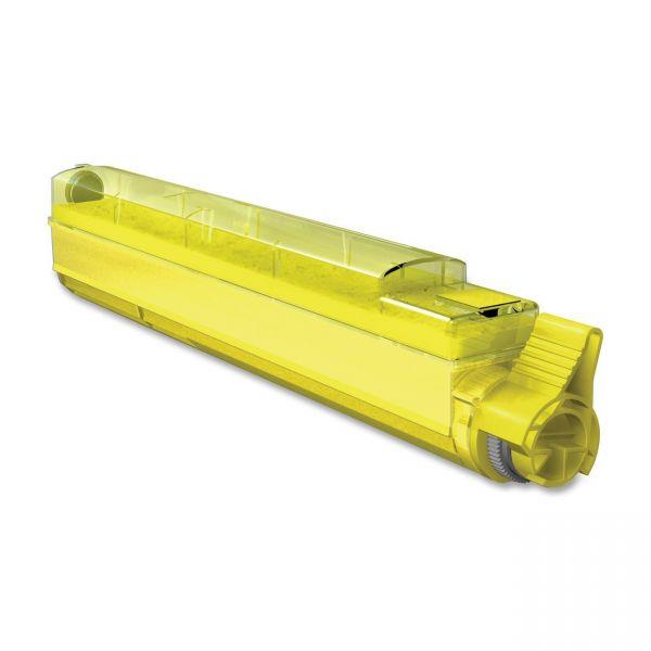 Media Sciences Remanufactured Oki 42918901 Yellow Toner Cartridge