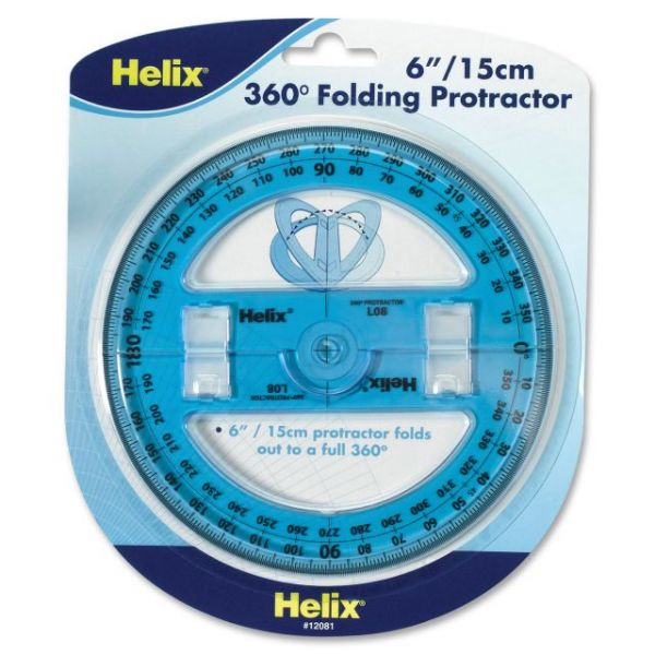 Helix Folding Protractor