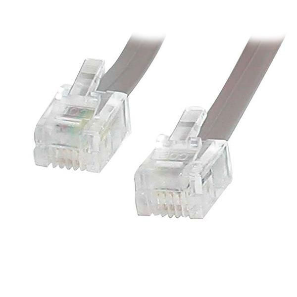 StarTech.com 25 ft RJ11 Telephone Modem Cable