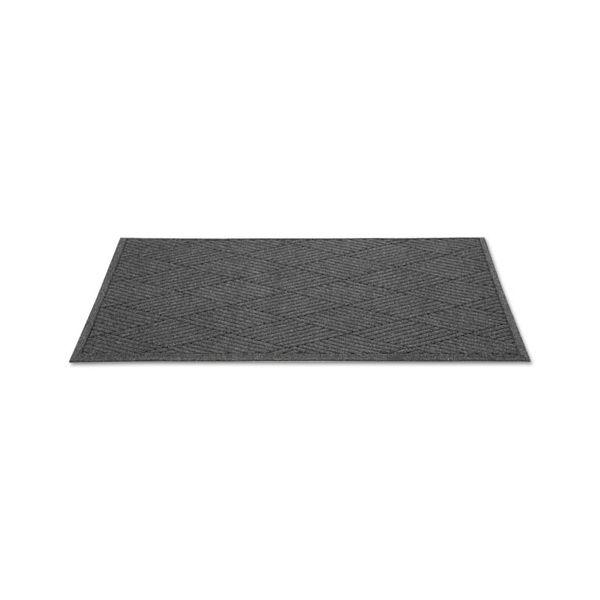 Guardian EcoGuard Diamond Floor Mat, Rectangular, 36 x 120, Charcoal
