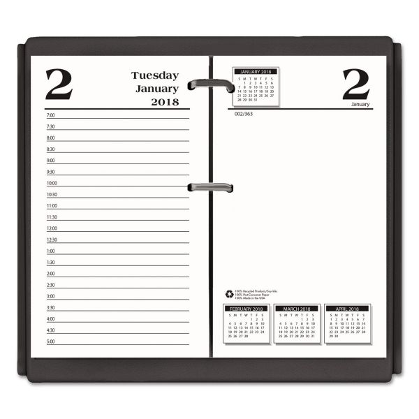 House of Doolittle Economy Daily Desk Calendar Refill