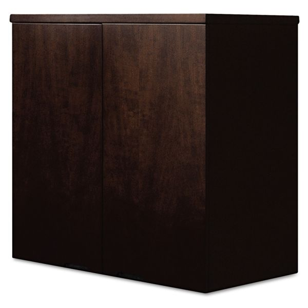 Mayline Mira Series Wood Veneer Wardrobe Unit, 34-1/2w x 24d x 38h, Espresso