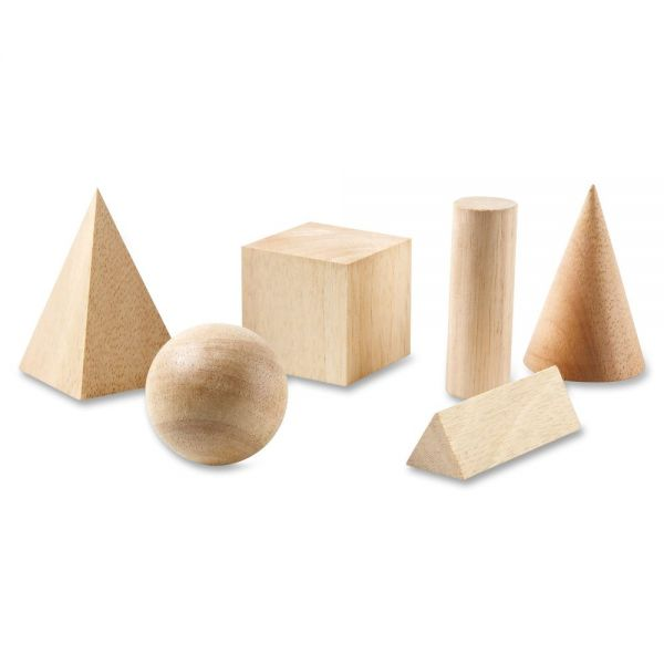 Learning Resources Wooden Geometric Shapes Set