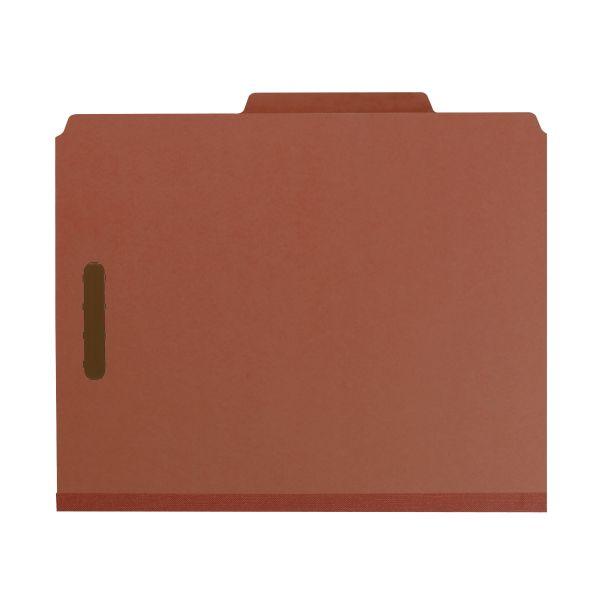 Smead 3-Divider Pressboard Classification Folders