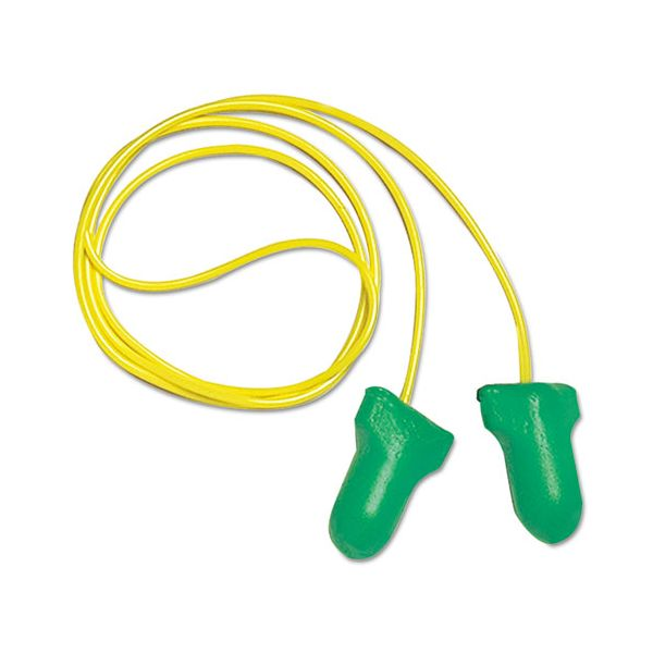Howard Leight by Honeywell LPF-1 D Max Lite Single-Use Earplugs, LS 500, Cordless, 30NRR, Green, 500 Pairs