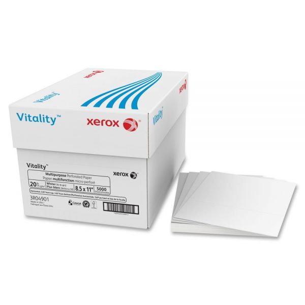 Xerox Premium Perforated Multi-Purpose White Copy Paper
