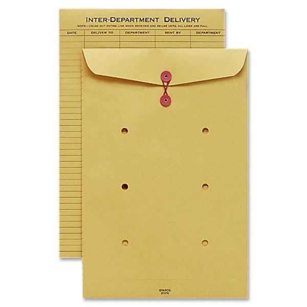 Sparco String & Button Close Inter-DePointEnvelopes