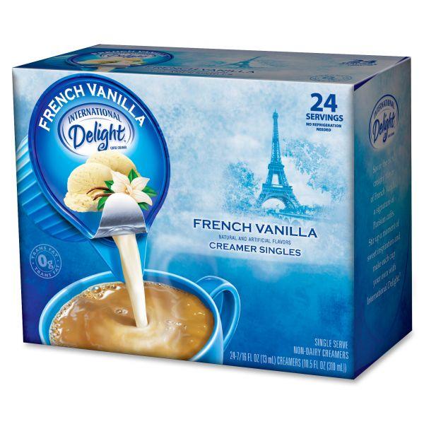 International Delight French Vanilla Coffee Creamer Mini Cups