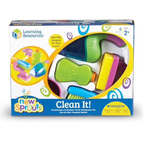 New Sprouts - Clean It! Play Set