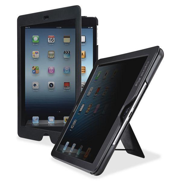Solo Privacy Screen Slim Case for iPad Air, Black