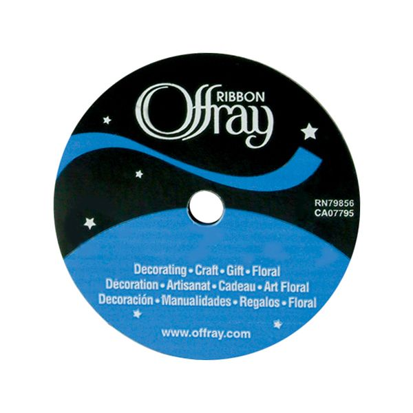 "Offray 5/8"" Single Face Satin Ribbon"