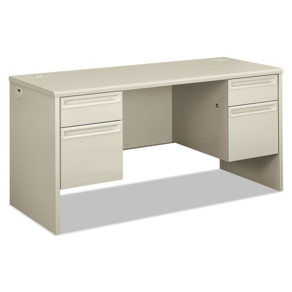 """HON 38000 Series Double Pedestal Credenza with Kneespace 