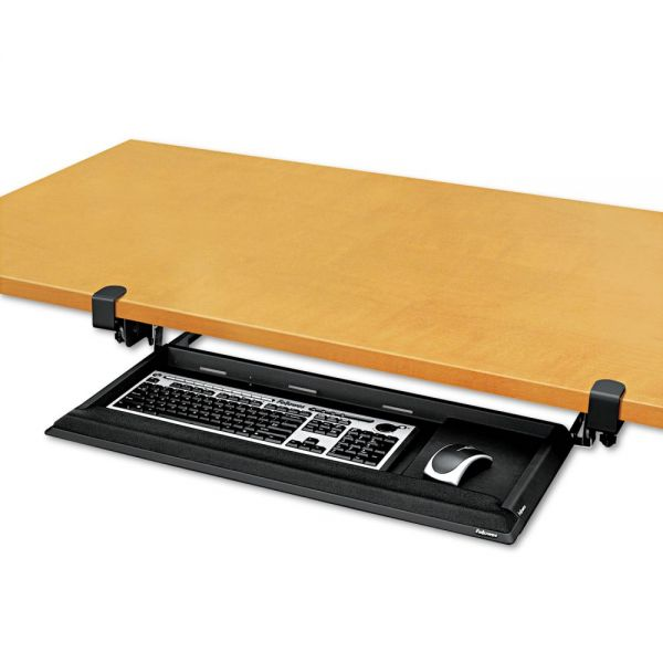Fellowes Keyboard Drawer With Foam Wrist Rest