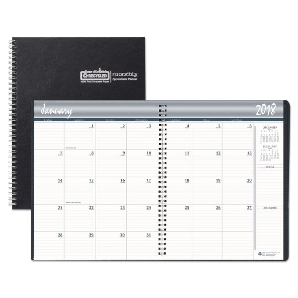 House of Doolittle Hard Cover Monthly Planner