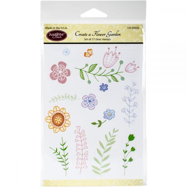 "JustRite Papercraft Clear Stamps 4""X6"""
