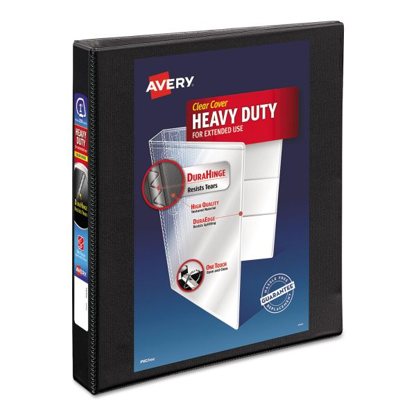 "Avery Heavy-Duty Reference 1"" 3-Ring View Binder"