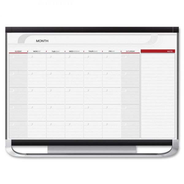 Quartet Prestige Monthly Calendar