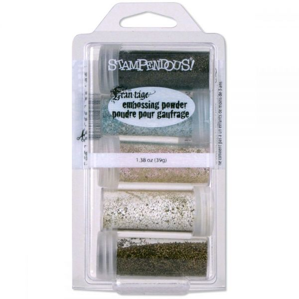 Stampendous Embossing Powder Kit 5/Pkg