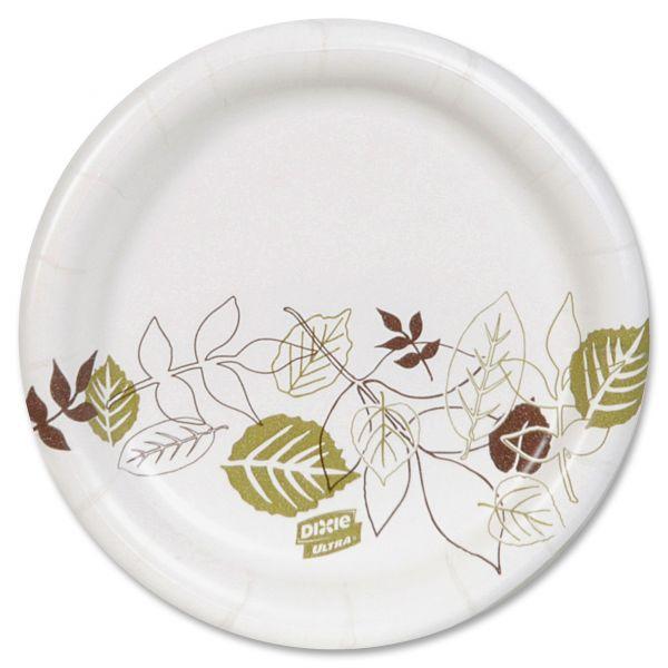 "Dixie Ultra Heavyweight 5 7/8"" Paper Plates"