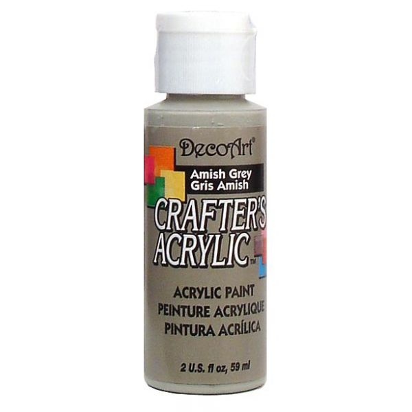 Deco Art Amish Grey Crafter's Acrylic Paint