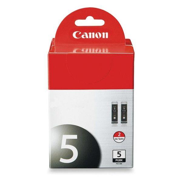 Canon PGI-5BK Black Ink Cartridges (SIC-RPGI5BDS)
