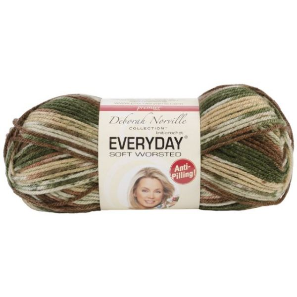 Deborah Norville Collection Everyday Soft Worsted Yarn - Oak Moss