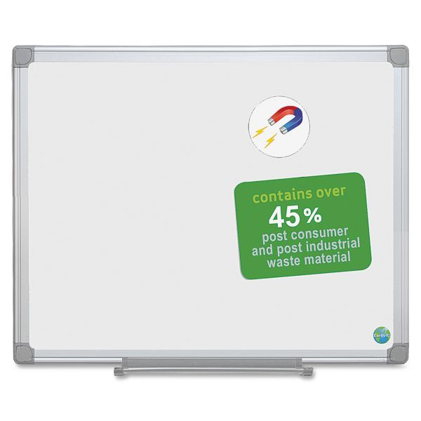 MasterVision Magnetic Dry Erase Board