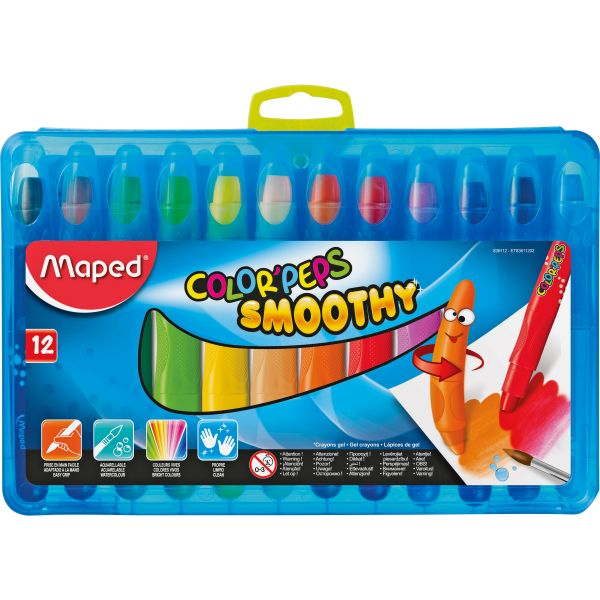 Helix Duo Color'Peps Smoothy Gel Crayons
