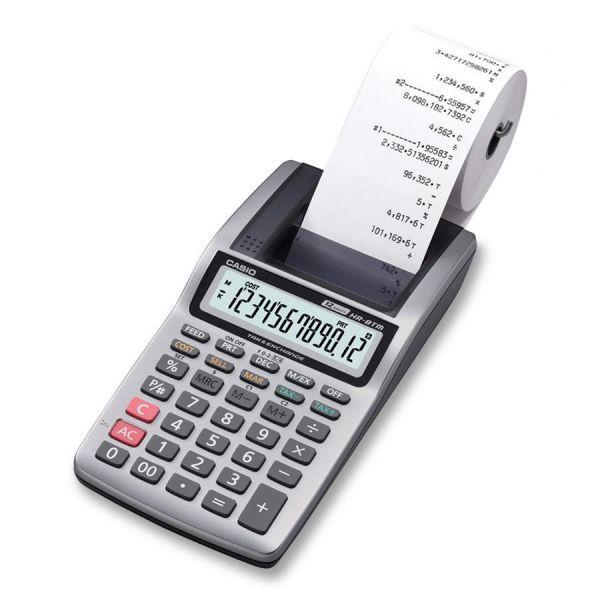 Casio HR-8TM Handheld Printing Calculator