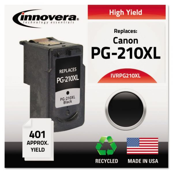 Innovera Remanufactured 2973B001 (PG-210XL) High-Yield Ink, Black