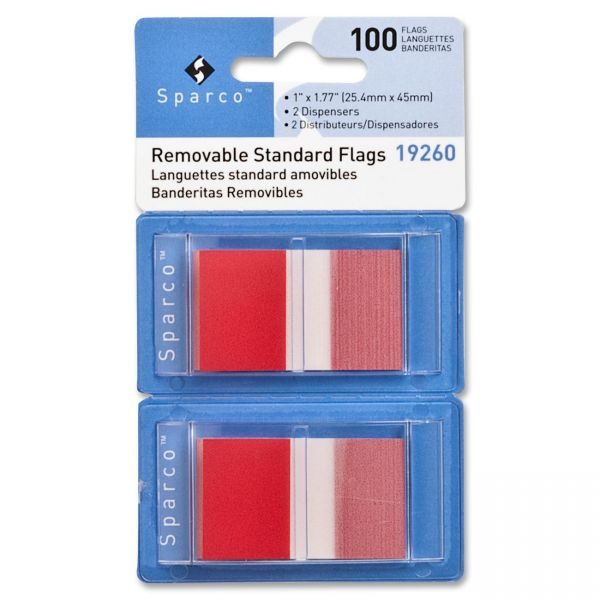 Sparco Removable Tabs