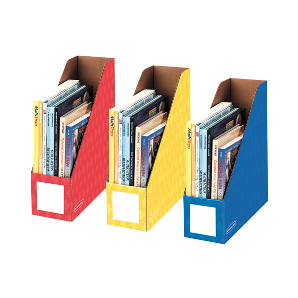 """Bankers Box 4"""" Magazine File Holders"""