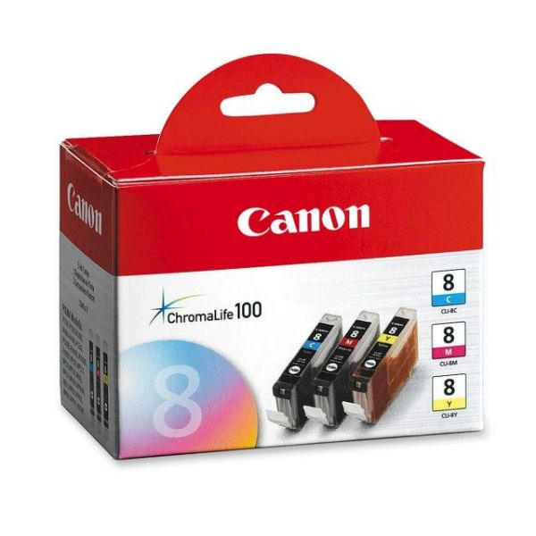 Canon CLI-8 Color Multi-Pack Ink Cartridges