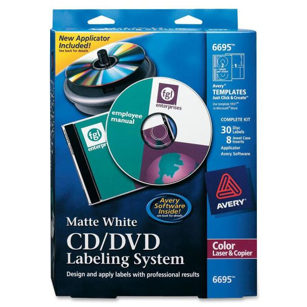 Avery CD/DVD Labeling System