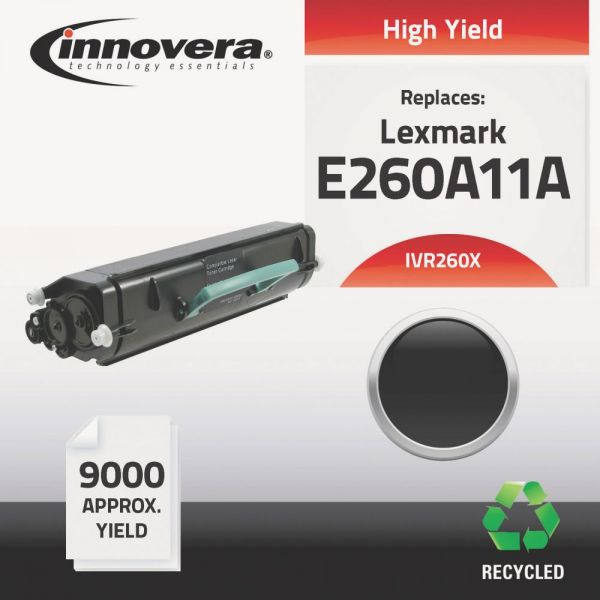 Innovera Remanufactured Lexmark 260X (E260A11A) High-Yield Toner Cartridge