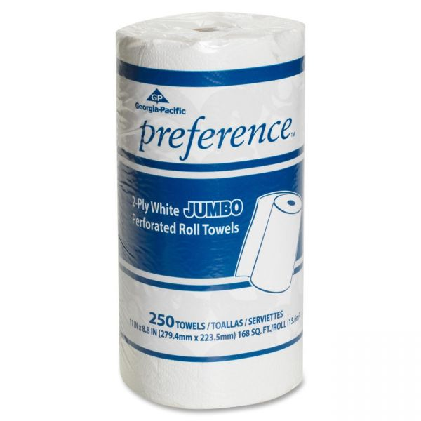 Preference Individually Wrapped Jumbo Paper Towels