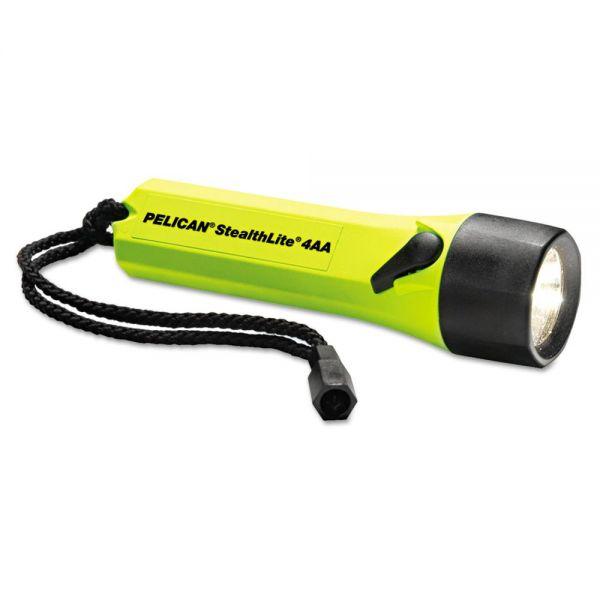 Pelican StealthLite 2400 Flashlight, Yellow