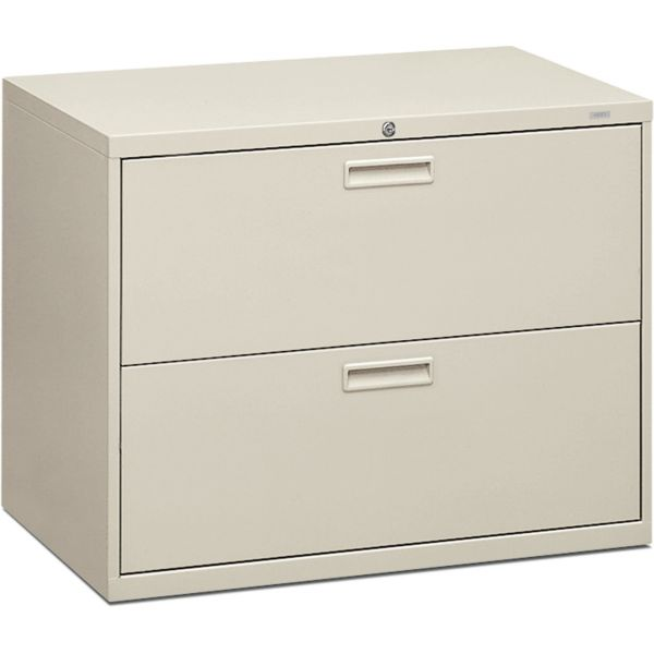 HON Brigade 500 Series 2-Drawer Lateral File Cabinet