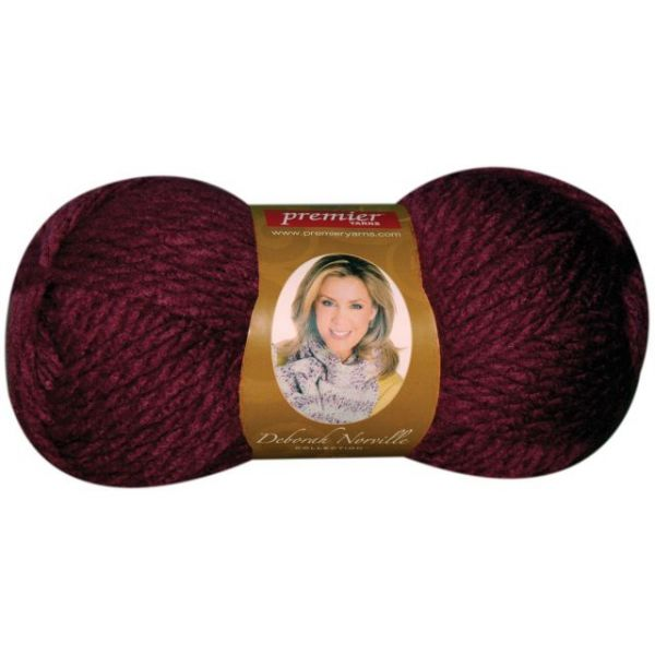 Deborah Norville Collection Serenity Chunky Yarn - Red Ochre