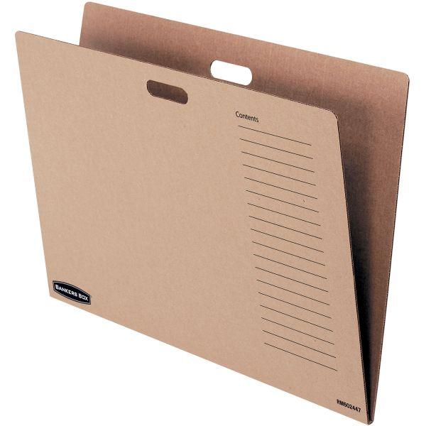 Bankers Box Bulletin Board Storage Divider Folder