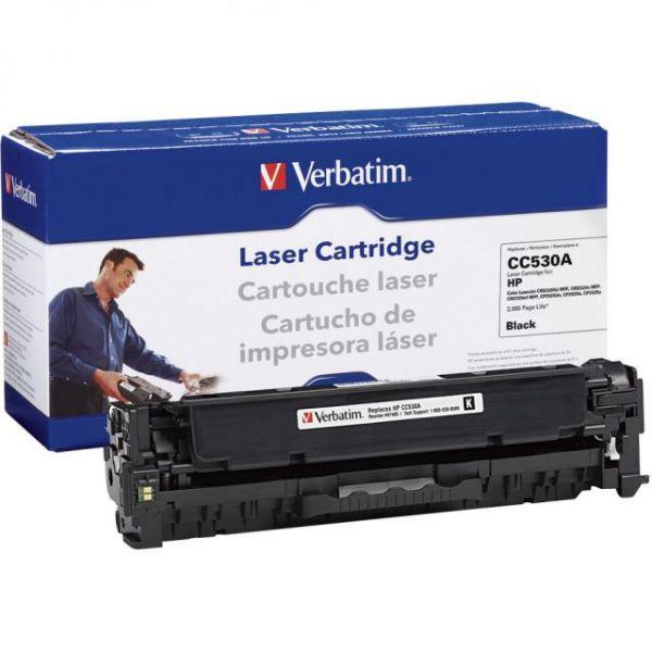 Verbatim Remanufactured HP CC530A Black Toner Cartridge