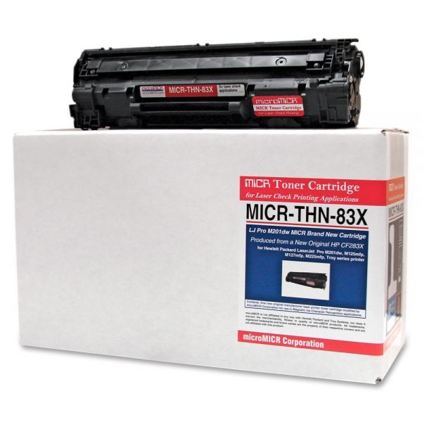Micromicr Remanufactured HP 83X MICR Toner Cartridge