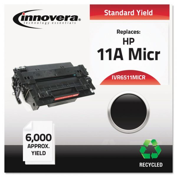 Innovera Remanufactued HP 11A (Q6511A) MICR Toner Cartridge