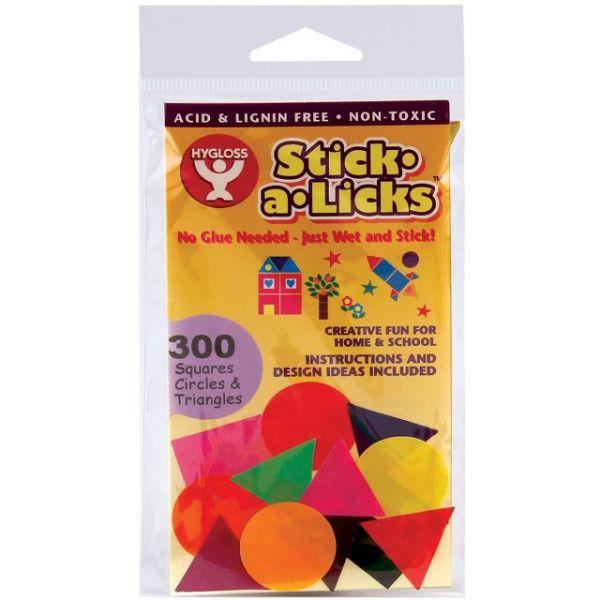 Stick-A-Licks Squares, Circles & Triangles