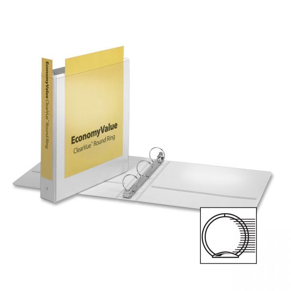 """Cardinal EconomyValue 1 1/2"""" 3-Ring View Binder"""