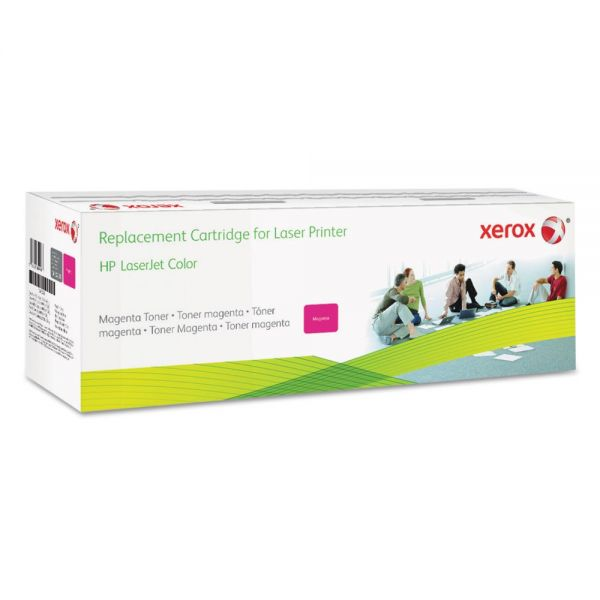 Xerox 006R03255 Remanufactured CF383A (312A) Toner, 2800 Page-Yield, Magenta