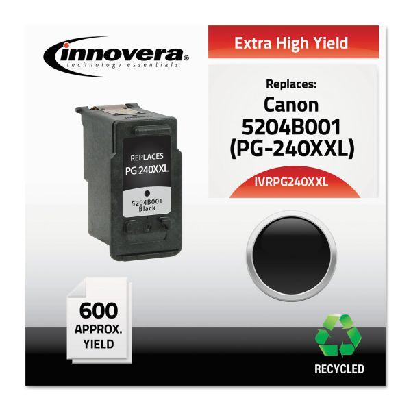 Innovera Remanufactured Canon PG240XXL (5204B001) Extra High-Yield Ink Cartridge